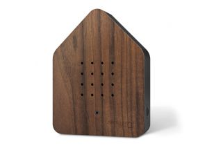 Relaxound Zwitserbox hout Walnoot met zwart