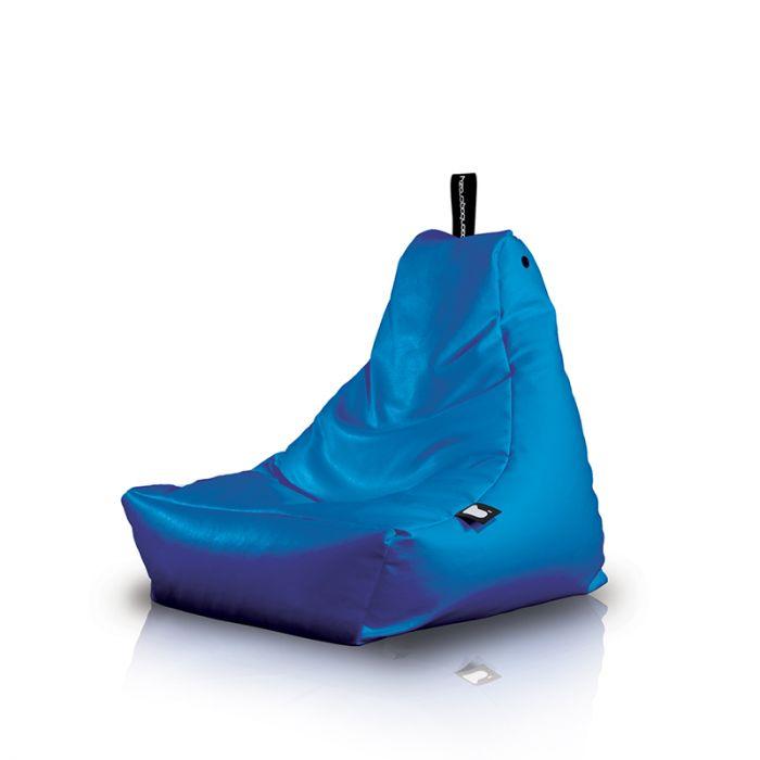 Delfts Blauwe Zitzak.B Bag Mini B Kinderzitzak Blauw