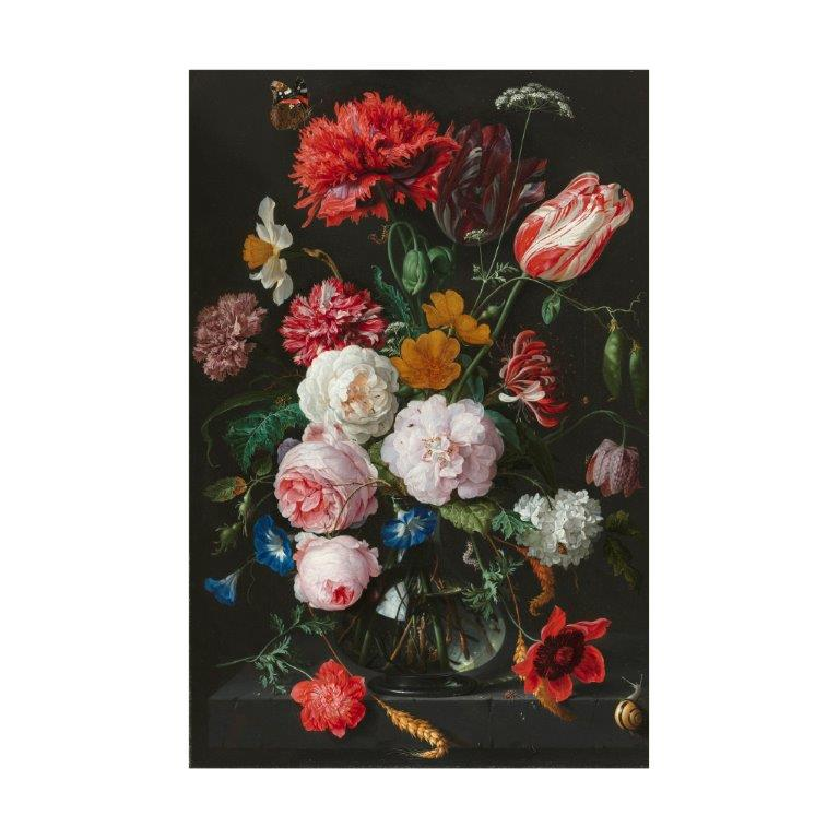 ixxi Muurdecoratie Still Life With Flowers 80 x 120 cm