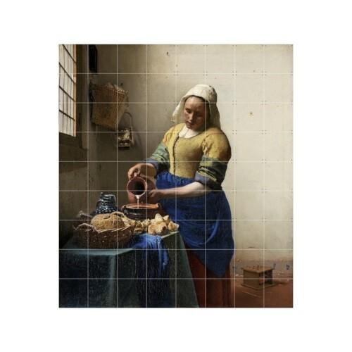 ixxi Johannes Vermeer Muurdecoratie Melkmeisje 160 x 180 cm