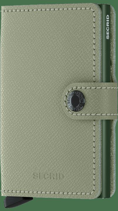 Secrid Mini wallet Crisple Pistachio floral