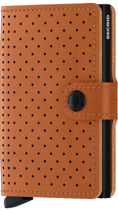 Secrid Mini wallet Perforated Cognac