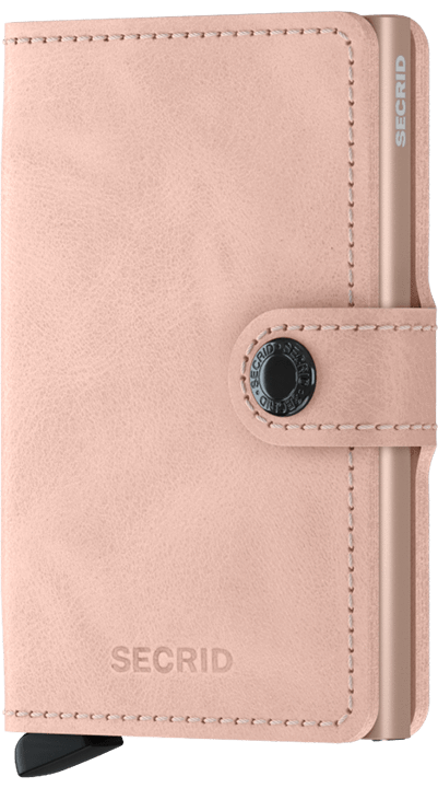 Secrid Mini wallet vintage Rose