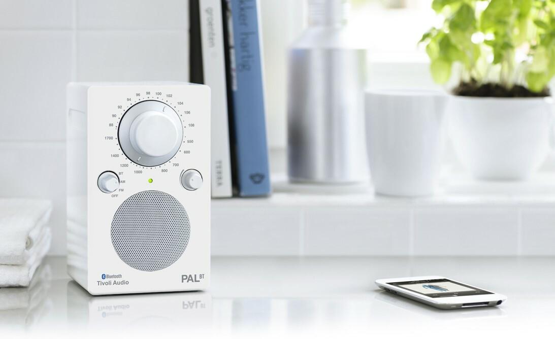 Tivoli Audio PAL Bluetooth Glanzend Wit