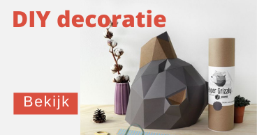 DIY muurdecoratie